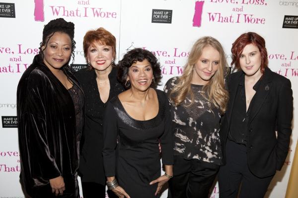 Fredi Walker-Browne, Donna McKechnie, Sonia Manzano, Annie Starke and Rumer Willis