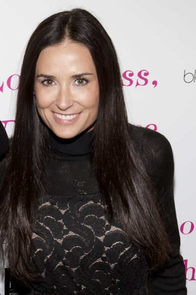 Demi Moore at Willis, Starke, McKechnie & More Join LOVE, LOSS!