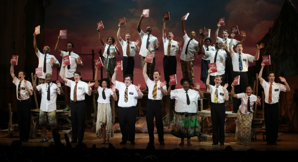 Photo Coverage: THE BOOK OF MORMON Opening Night Curtain Call