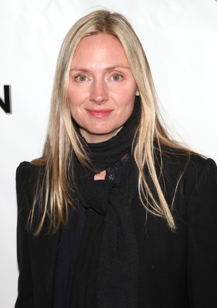 Hope Davis attending the Broadway Opening Night Performance of 'The Book Of Mormon' at The Eugene O'Neill Theatre in New York City.