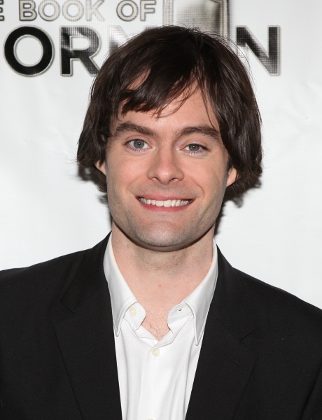 Bill Hader attending the Broadway Opening Night Performance of 'The Book Of Mormon' at The Eugene O'Neill Theatre in New York City.