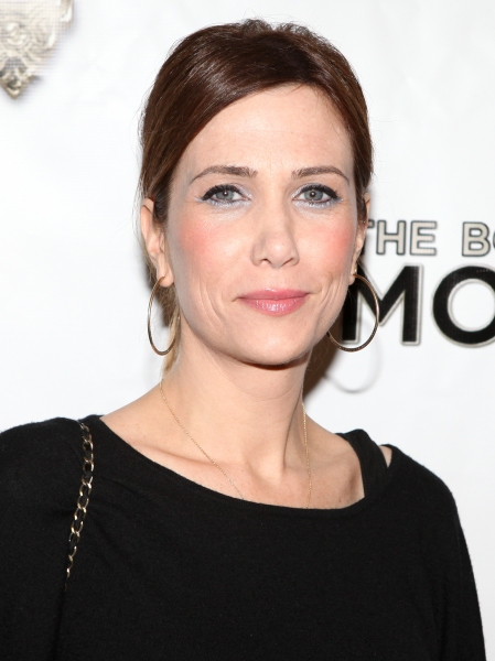 Kristin Wiig attending the Broadway Opening Night Performance of 'The Book Of Mormon' at The Eugene O'Neill Theatre in New York City. at THE BOOK OF MORMON Opening Night - Theatre Arrivals
