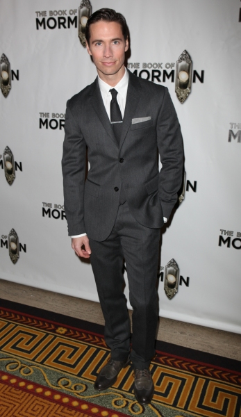 Clark Johnsen attending the Broadway Opening Night After Party for 'The Book Of Mormo Photo
