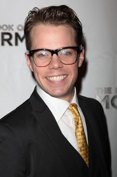 Benjamin Schrader attending the Broadway Opening Night After Party for 'The Book Of Mormon' at Gotham Hall in New York City.