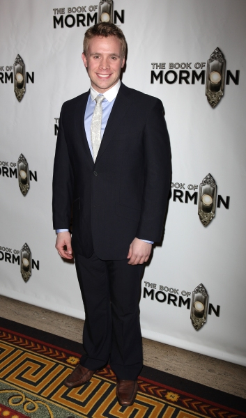 Brian Sears attending the Broadway Opening Night After Party for 'The Book Of Mormon' at Gotham Hall in New York City.