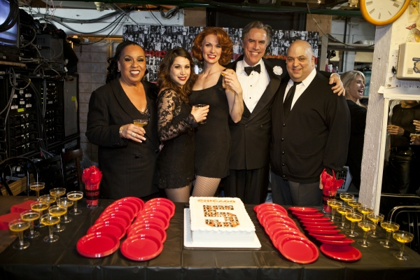 Roz Ryan, Bianca Marroquin, Leigh Zimmerman, Jeff McCarthy and Raymond Bokhour