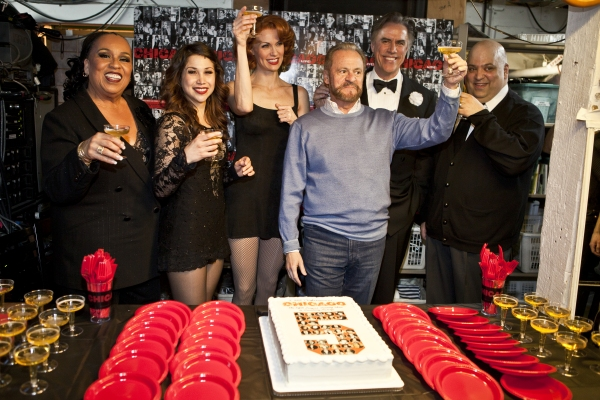 Photo Coverage: CHICAGO Becomes 5th Longest Running Broadway Show!