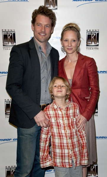Anne Heche, James Tupper and son Homer