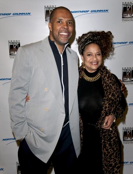 Eriq La Salle and Debbie Allen