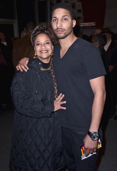 Debbie Allen and her son Norm Nixon, Jr.