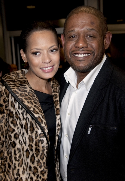 Forest Whitaker and Keisha Whitaker at Phylicia Rashad Directed A RAISIN IN THE SUN Opens in LA