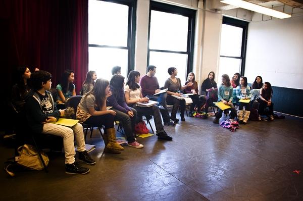Marc Tumminelli, Daisy Eagan & the Broadway Workshop