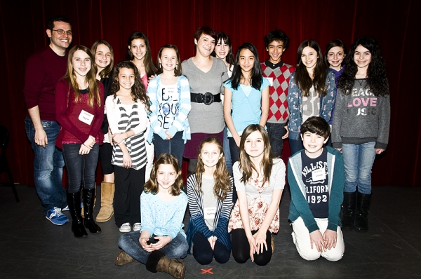 Photo Coverage: Daisy Eagan Visits the Broadway Workshop