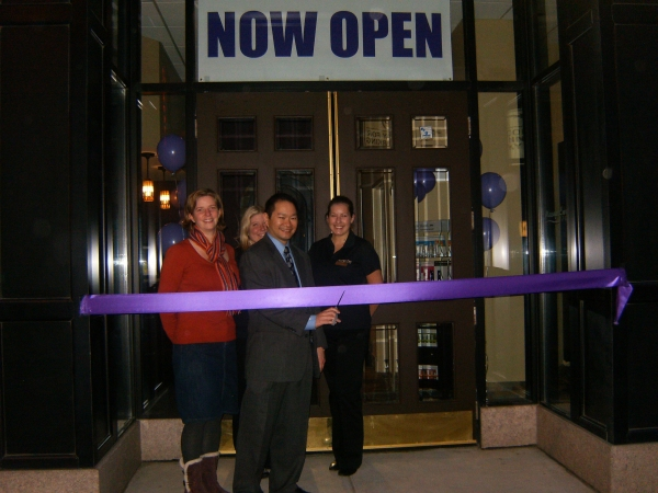 Kimberly Yee, Manager Laura Wiesenberg, Owner Wesley Yee and Manager Robin Yurgil