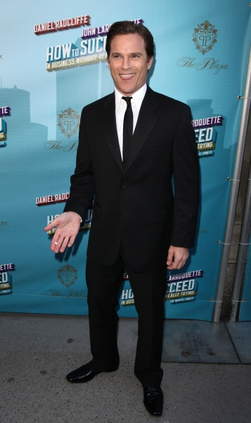 Mike Doyle attending the Broadway Opening Night Performance of  'How to Succeed in Bu Photo