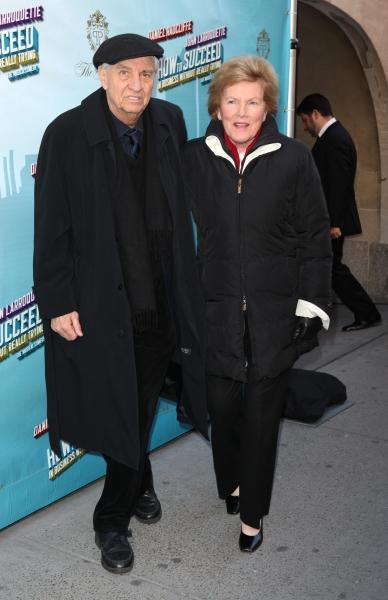 Gary Marshall & wife Barbara attending the Broadway Opening Night Performance of 'How Photo