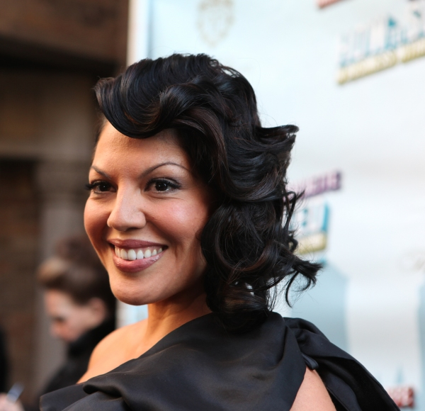Sara Ramirez attending the Broadway Opening Night Performance of 'How to Succeed in Business without Really Trying' at the Al Hirschfeld Theatre in New York City.