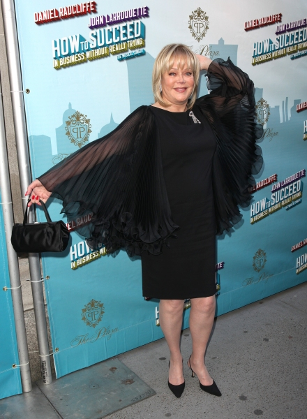 Candy Spelling attending the Broadway Opening Night Performance of  'How to Succeed in Business without Really Trying' at the Al Hirschfeld Theatre in New York City. at HOW TO SUCCEED Theatre Arrivals!