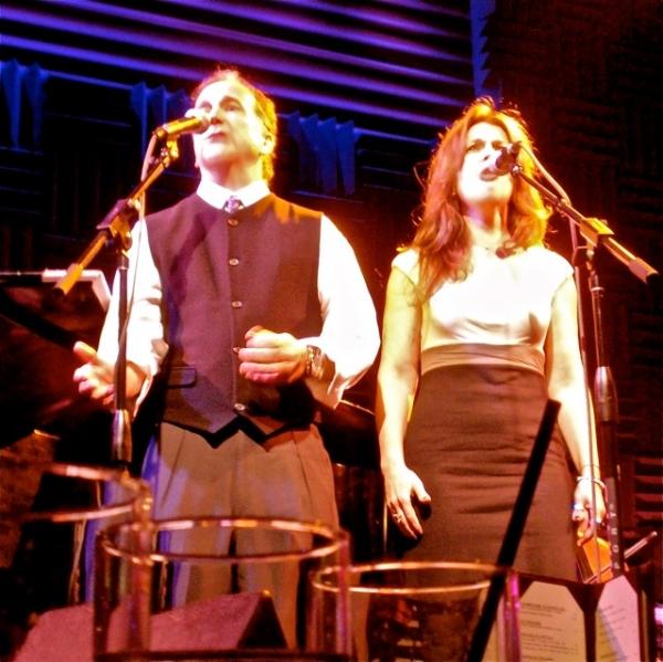 Mark Linn-Baker and Christa Justus