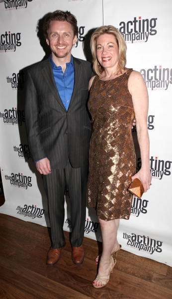Jason Daniely & Marin Mazzie attending the After Party for  'Angela Lansbury and Friends Salute Terrence McNally' - A Benefit for the Acting Company in New York City. at Lansbury & Friends Salute McNally - Reception