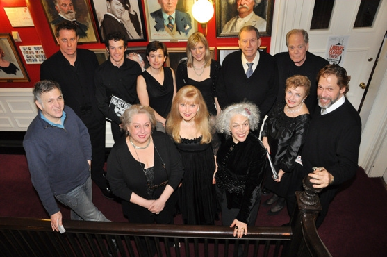 Rufus Collins, A.J. Shively, Hannah Cabell, Charlotte Parry, Richard Easton, Evan Thompson, Jesse Green Jayne Houdyshell, Diane Stilwell Weinberg, Marilyn Sokol and Ruth Leon and joined by director David Staller