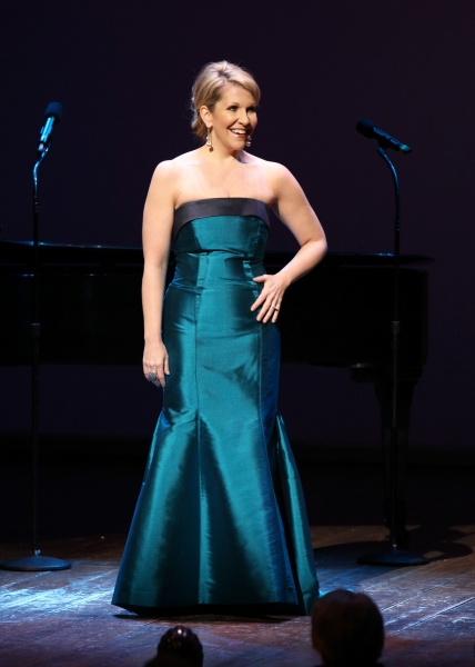 Joyce DiDonato performing in 'Angela Lansbury and Friends Salute Terrence McNally' - A Benefit for the Acting Company in New York City.