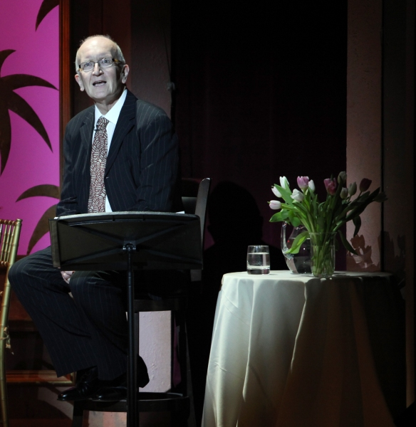 John Doyle performing in 'Angela Lansbury and Friends Salute Terrence McNally' - A Benefit for the Acting Company in New York City. at Lansbury & Friends Salute McNally - The Tribute