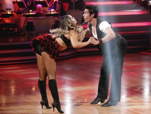 Lacey Schwimmer,  Mike Catherwood