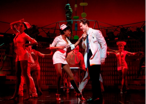 Aaron Tveit, Candice Marie Woods and Company