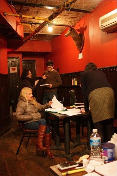 Julie Kline, Stephen Brown, and Ali Stroker Photo