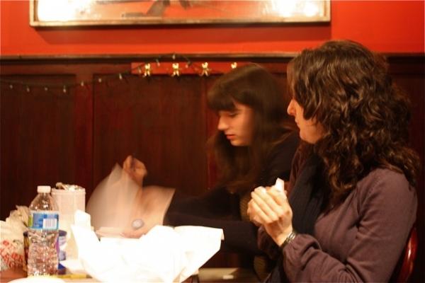 Playwright Maya Macdonald and director Julie Kline