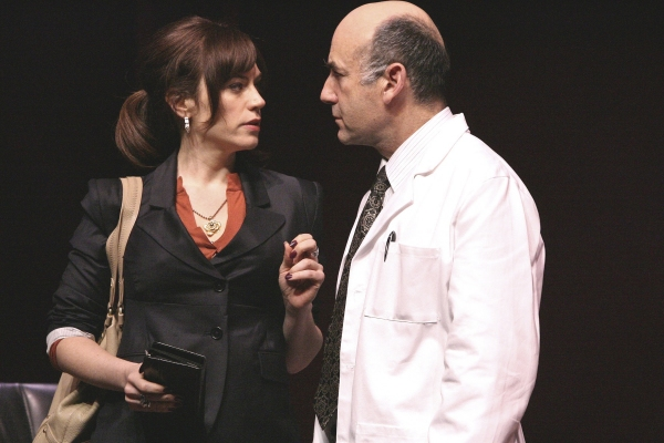 Maggie Siff and James Eckhouse