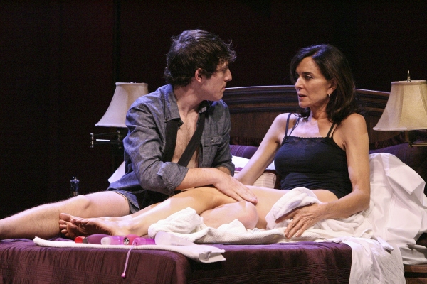 Gabriel Sunday and Polly Draper