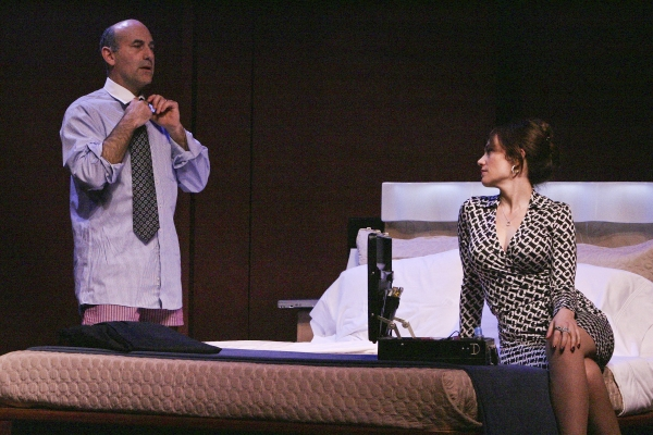 James Eckhouse and Maggie Siff  at Geffen Playhouse's THE ESCORT