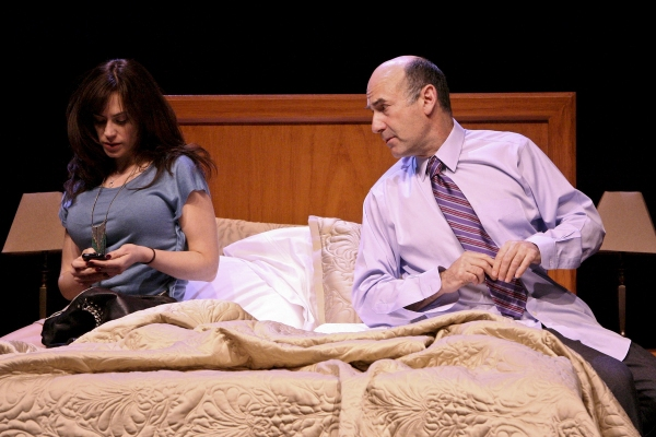 Maggie Siff and James Eckhouse at Geffen Playhouse's THE ESCORT