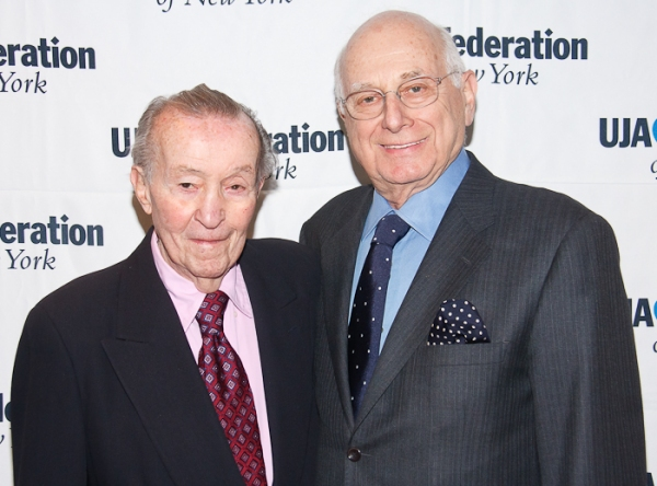 Ted Mann and Paul Libin  Photo
