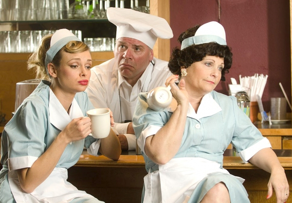 (L-R) Audra Borden (Janet Chester), Joe Derry (Wally Merdock) and Sue Rossman (Louise Merdock)