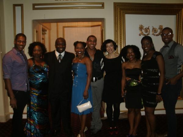 Jaquez Sims, Donica Lynn, James Earl Jones II, Karen Burthwright, Stephane Duret, Peg Photo