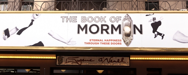 Photo coverage the book of mormon gypsy robe ceremony - The book of mormon box office ...
