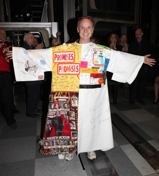 Cleve Asbury attending the Broadway Opening Night Gypsy Robe Ceremony for Recipient Cleve Asbury in 'How to Succeed in Business without Really Trying' at the Al Hirschfeld Theatre in New York City.