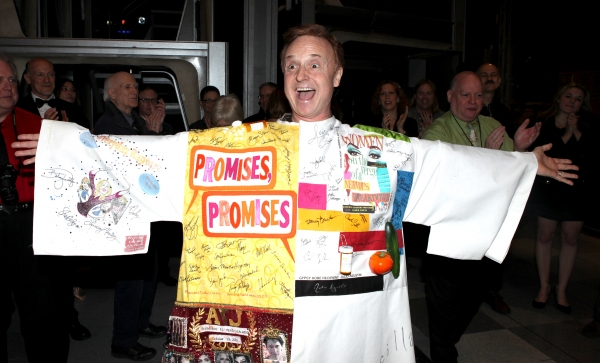 Cleve Asbury (Recipient) attending the Broadway Opening Night Gypsy Robe Ceremony for Recipient Cleve Asbury in 'How to Succeed in Business without Really Trying' at the Al Hirschfeld Theatre in New York City.