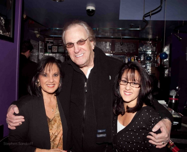 Angela Bacari, Danny Aiello, Lisa Baccari at Terese Genecco Plays the IRIDIUM