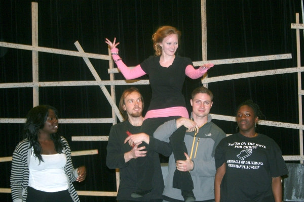 Stephanie Moon with Aminata Keita, David Walter, Jakub Sowirko, and Taylor Pickett-Stokes