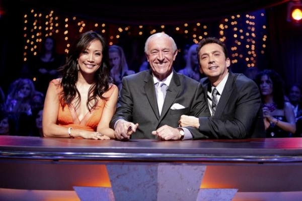 Carrie Ann Inaba, Len Goodman, Bruno Tonioli at Mike Catherwood Leaves DWTS!