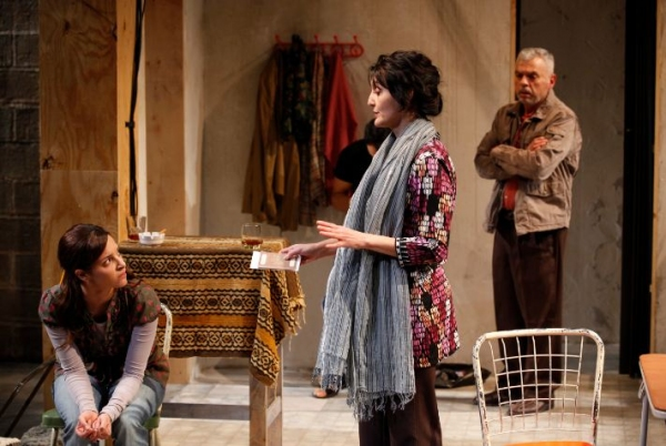 Tala Ashe, Jacqueline Antaramian and Ted Sod  at Public Theater's URGE FOR GOING