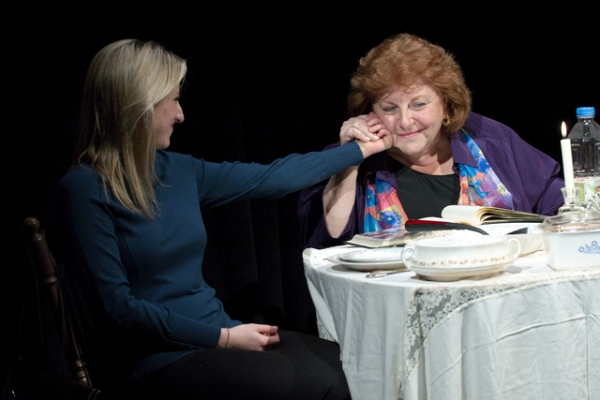 "Ashley Stein as ""Marsha"" and Susan Adler as ""Rose"""