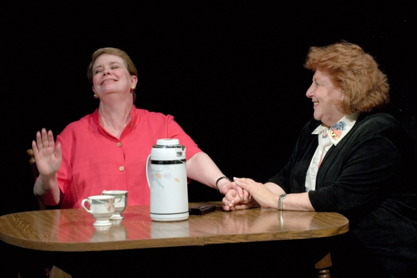 "Michelle McKenzie-Voigt as ""Norma"" and Susan Adler as ""Rose"""