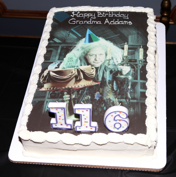 Photo Coverage: Grandma Addams Turns 116!