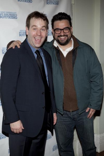 Mike Birbiglia and Horatio Sanz Photo
