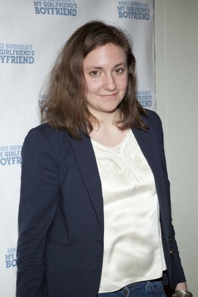 Lena Dunham at Mike Birbiglia's MY GIRLFRIEND'S BOYFRIEND Opens Off-Broadway